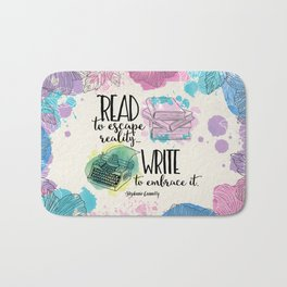 Write to Embrace design Bath Mat