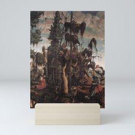 Georg Lemberger - St George Freeing the Princess Mini Art Print