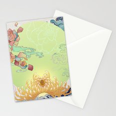 Biomorphic Stationery Cards