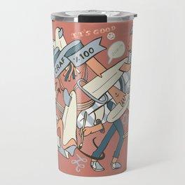 Hand Crafted 100% Travel Mug