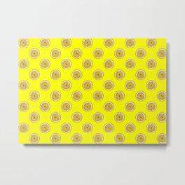 Lemons - Living Hell Metal Print