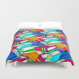 Happy Reading Duvet Cover