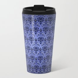 Beauty Haunted Mansion Wallpaper Stretching Room Travel Mug