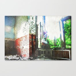 Echo of the mind.... Canvas Print