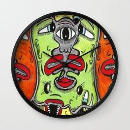 Viggo Vake Melting 2016 Wall Clock