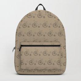 Penny Farthing Vintage Bicycle Backpack