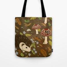 Woodland critters (sepia tone) Tote Bag