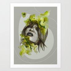 Eva by carographic, Carolyn Mielke Art Print
