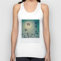 lanterns Tank Tops featuring Lanterns by Leandro