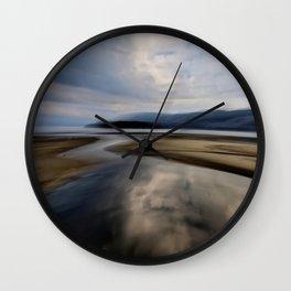 places incognito Wall Clock