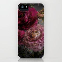 Ranunculus and Romance iPhone Case