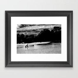 summer baby Framed Art Print