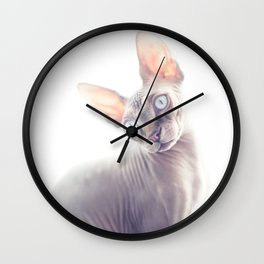 SPHYNX KITTEN III Wall Clock