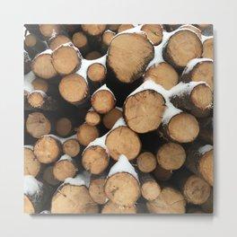 Firewood of the Future Metal Print