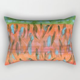 Celebrating a Wonderful Day Rectangular Pillow