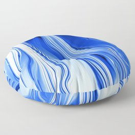 Streaming Blues Floor Pillow