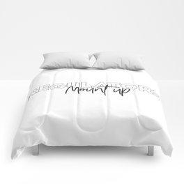 Regulators mount Comforters