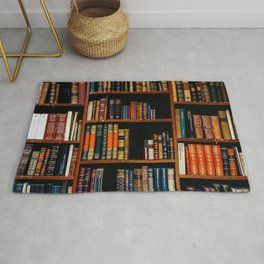 The Bookshelf (Color) Rug