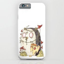 Evil penguin iPhone Case