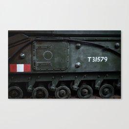 Sidehatch and Bogie Wheels Canvas Print