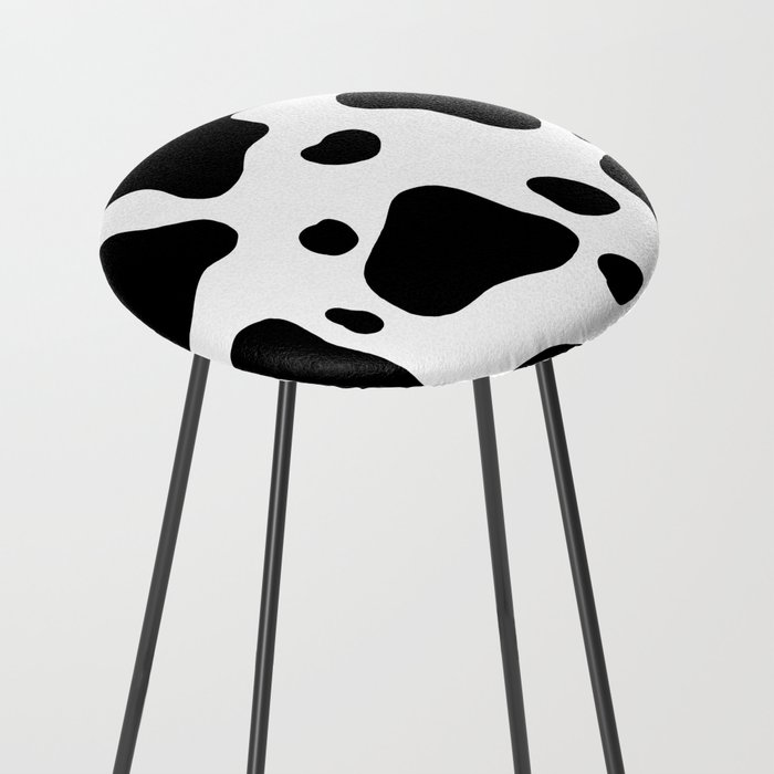 Cow Hide Counter Stool