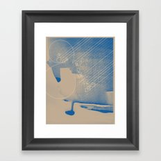 WIND & RAIN Framed Art Print