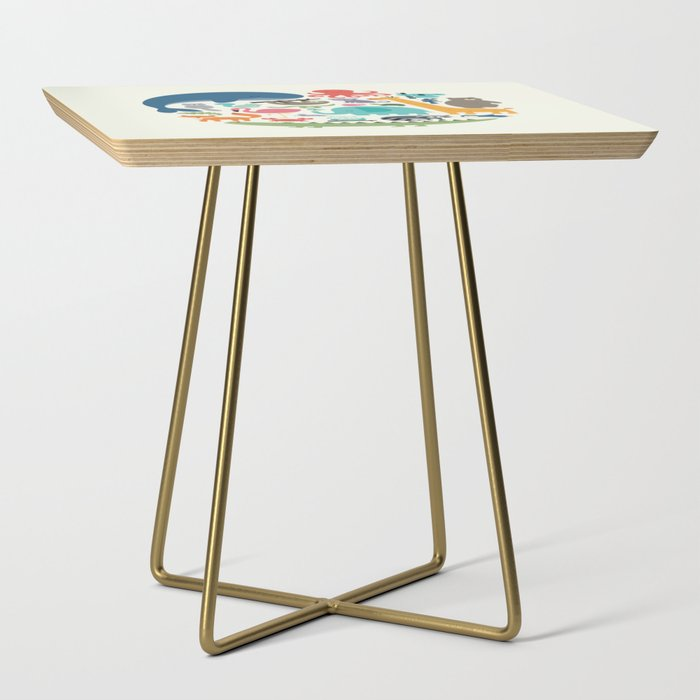 We Are One Side Table
