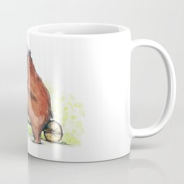 Bear Bike Coffee Mug