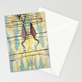 Wading Through Clouds Stationery Cards