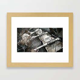 Bass guitar Framed Art Print