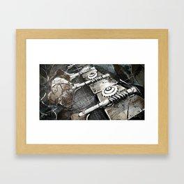Bass guitar Framed Art Print