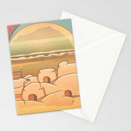 Beached Labyrinth Stationery Cards