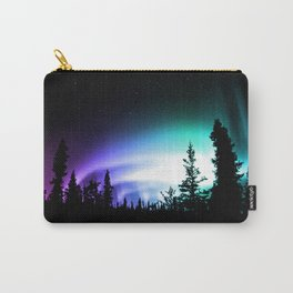 Aurora Borealis Forest Carry-All Pouch