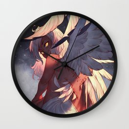 Earn Your Wings Wall Clock