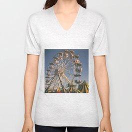 Wheel Ferris Unisex V-Neck
