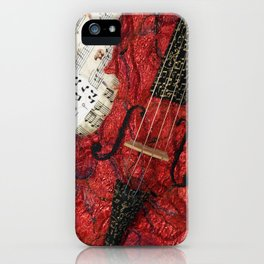 The Red Violin iPhone Case