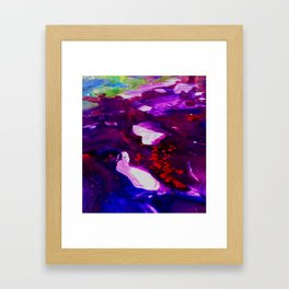 Diffusion Framed Art Print