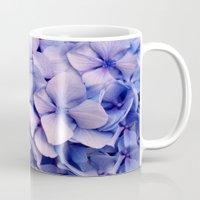 hydrangea Mugs featuring Hydrangea by Anne Seltmann