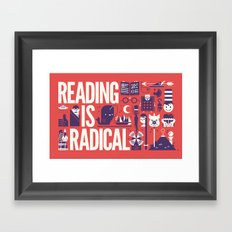 Reading is ... Framed Art Print