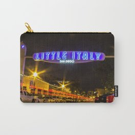 Little Italy (San Diego) Sign - SD Signs Series #5 Carry-All Pouch