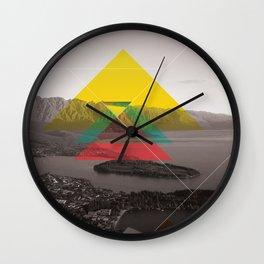 Sojourn series - Queenstown Wall Clock