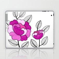 Rosette Mauve Laptop & iPad Skin
