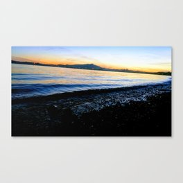 From THE RICH, with Love Canvas Print