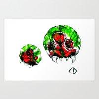 metroid Art Prints featuring Metroid by CJ Draden