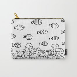 Underwater village Carry-All Pouch