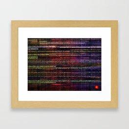 Synthech Framed Art Print