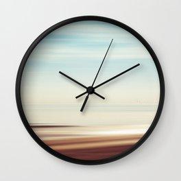 Solitude Beach Wall Clock