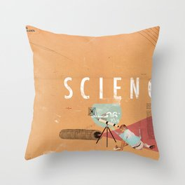 Science- fun for all ages Throw Pillow