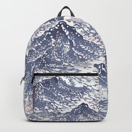 Distant View - 遠望 series -Linocut Backpack
