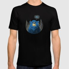 Hungry Bear Mens Fitted Tee Black SMALL